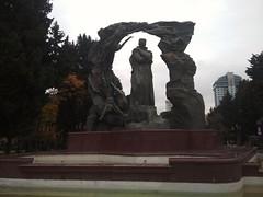 Huseyn Javid (mirzetaghiyev) Tags: baku azerbaijan sculpture