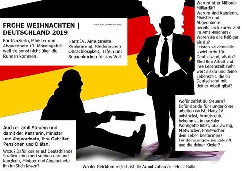 Frohe Weihnachten  Deutschland 2019. - Horst Bulla
