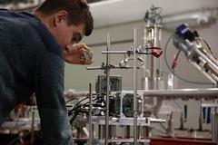 Mainz Testbeam November 2019 (niklausberger) Tags: mainz deutschland rhinelandpalatinate mu3e jgu germany carsten testbeam p2 physics johannesgutenberguniversity