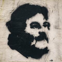 face it (rick.onorato) Tags: beirut lebanon street art face man stencil