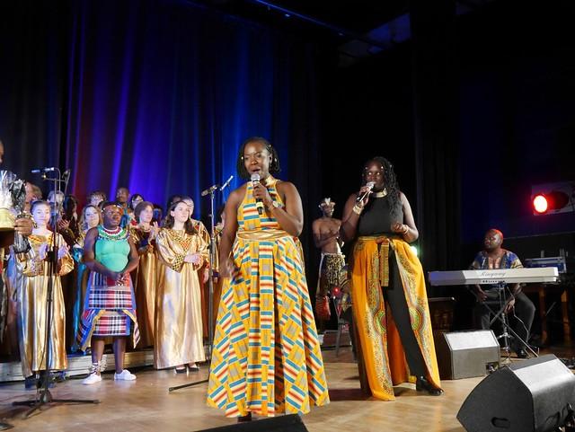 Le Soweto Choir a enchanté l'espace culturel