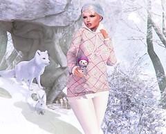 My sweet little Snowman (nannja.panana) Tags: tmcreation arcade belleevent birth candydoll catwa letredoux luaneposes nannjapanana semotionlibellune tmp libellune semotion