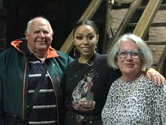 Backstage with Jade (RobW_) Tags: robert jade ritsa hamilton west end victoria palace theatre london england tuesday 29oct2019 october 2019