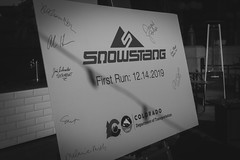 SNOWSTANG Reveal and Launch Day (coloradodotphoto) Tags: 2019 cdot snowstang launch colorado travel tourism ski snow resort snowboard bus passenger multimodal ace pedestrian governor polis highway road route express coaches