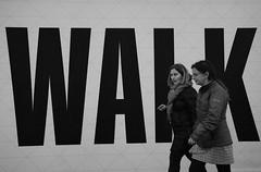 Walk It Talk It (Photographer : Hans Stellingwerf) Tags: amsterdam streetphotography street nederland netherlands holland mensen people straatmoment straat straatfotografie walk loop straatportret streetportrait vrouw woman