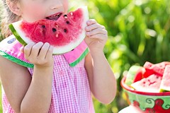 eating healthy watermelon (nhlaposipho10) Tags: fat tummy belly healthy weight fin gym