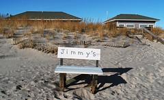 Sagg Main Beach (neilsonabeel) Tags: nikonfm2 nikon nikkor film analogue beach longisland suffolkcounty sand bench newyork saggmainbeach
