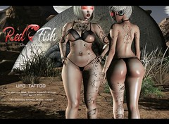 New RedFish tattoo (RedFish owner) Tags: hunt free madpea greenmire tattoo ink redfish ufo alien secondlife blog sl