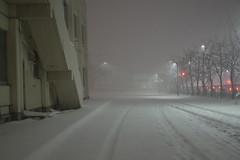 10m sight (しまむー) Tags: pentax k30 smc da 1850mm f456 dc wr re snow storm