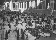 Enfermeiras da Cruz Vermelha (Arquivo Nacional do Brasil) Tags: enfermagem enfermeira forçaexpedicionáriabrasileira feb segundaguerramundial arquivonacional arquivonacionaldobrasil nationalarchives nationaarchivesofbrazil história memória