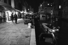 Venice nightlife, 8.47pm-9.50pm 18th October 2019 (fabiolug) Tags: nightlife night venice venezia italy italia darkness light shadow shadows people street streetphotography canal canals bridge boat boats leicammonochrom mmonochrom monochrom leicamonochrom leica leicam rangefinder blackandwhite blackwhite bw monochrome biancoenero leicaelmarit28mmf28asph elmarit28mmf28asph elmarit28mm leicaelmarit28mm 28mm elmarit leicaelmarit wide wideangle cannareggio