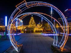 Katowice (dadudawien) Tags: yim1 yi1240mm katowice night nacht weihnachtsmarkt lowlight weihnachtsbeleuchtung citylights