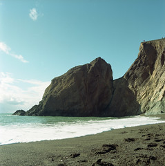 2019-11 H C R04 003 (kccornell) Tags: point reyes marin california beach coast pacific ocean hasselblad 500c 120 6x6 medium format film kodak portra 400 color