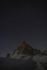 Passo Giau (isabelmarconato) Tags: passogiau night longexposure stars stelle landscape nature dolomiti snow winter nikonz6 nikon