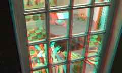 poppenhuis Bisschop Museum Rotterdam 3D (wim hoppenbrouwers) Tags: poppenhuis bisschop museum rotterdam 3d anaglyph stereo redcyan house model miniatuur scale dollhouse