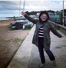 Joie de Vivre (RobW_) Tags: ritsa celebrating whitstable kent england monday 28oct2019 october 2019