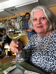 Cheers! (RobW_) Tags: ritsa toast jordan riesling high timber restaurant london wednesday 30oct2019 october 2019