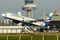 TC-SON (PlanePixNase) Tags: aircraft airport planespotting haj eddv hannover langenhagen sunexpress boeing 737800 737 b738