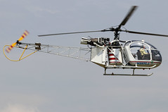 N297CJ_02 (GH@BHD) Tags: n297cj aerospatiale se313 se313b alouette alouetteii aerospatialese313balouetteii airbritainflyin2019 turwestonairfield airbritainflyin airbritain turweston helicopter chopper rotor aircraft aviation