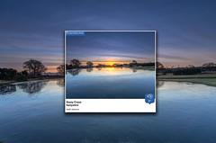 BBC Weather Watchers Dec 5 (nicklucas2) Tags: cloud cold pond water sunrise sun sunburst landscape newforest hampshire mogshade tree
