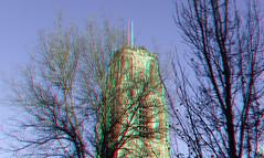 Laurenstoren Rotterdam 3D (wim hoppenbrouwers) Tags: laurenstoren rotterdam 3d anaglyph stereo redcyan