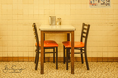 Table For 2 (suszkoglen) Tags: detroit coney island lafayette puremichigan detroitvseverybody