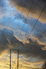 """Hairy skies (5'20"""") Tags: storm sky clouds sunset rain raleigh"""