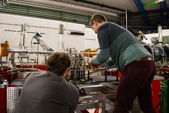 Mainz Testbeam November 2019 (niklausberger) Tags: mainz physics rhinelandpalatinate mu3e jgu germany carsten david johannesgutenberguniversity p2 testbeam deutschland