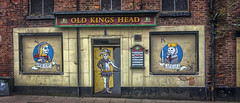 Photo of Old Kings Head - Macclesfield, Cheshire, England ..a few weeks before demolition ..now gone ..
