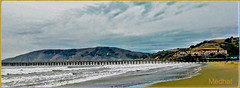 Avila Beach! (medaibl) Tags: sanluisbayinn sand hills surf water clouds