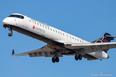 Jazz CRJ (galenburrows) Tags: aviation aircraft airplane crj jazz cyyz yyz toronto flight flying