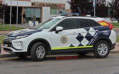 Policía Local Alcalá de Henares (emergenciases) Tags: emergencias españa 112 comunidaddemadrid vehículo policía policíalocal policíalocalalcaládehenares alcaládehenares mitsubishi mitsubishieclipse eclipse todoterreno todocamino seguridad