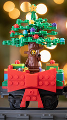 Christmas Tree Guy Wallpaper (fourbrickstall) Tags: christmas lego minifigure minifig tree holiday