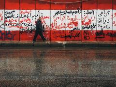 reflections (rick.onorato) Tags: beirut lebanon grafitti man street reflect
