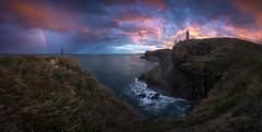 Faro de Cabo Mayor (Pablo RG) Tags: santander cantabria spain seascape sunrise amanecer sky nikon nature