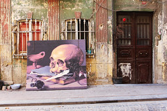 Death's Head (arifablak) Tags: street art picture balat istanbul