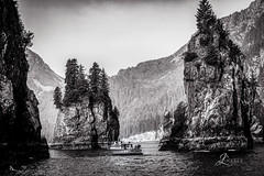 Fishing Boat at Kenai Fjords National Park, Alaska in BW (JuanJ) Tags: kenaifjordsnationalpark alaska seward park nikon d850 lightroom art bokeh lens light landscape naturephotography nature people white green red black pink skyportrait location architecture building city square squareformat instagramapp shot awesome supershot beauty cute new flickr amazing photo photograph fav favorite favs picture me explore interestingness friends dof sunset sky flower night tree flowers portrait fineart sun clouds nikonfxshowcase