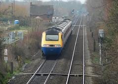 43045 + 43081 - Attenborough, Nottinghamshire (The Black Country Spotter) Tags: eastmidlandsrailway attenborough nottinghamshire railway class43 powercar 43045 43081 intercity125 highspeedtrain hst nottingham stpancras networkrail britishrailways trainspotting