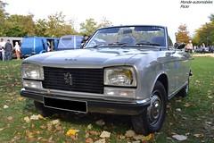 Peugeot 304 Cabriolet (Monde-Auto Passion Photos) Tags: voiture vehicule auto automobile cars peugeot 304 cabriolet convertible roadster spider gris grey ancienne classique collection rassemblement france montereaufaultyonne