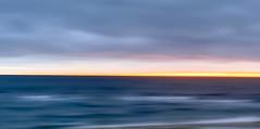 Cape Cod Winter Blue (Chris Seufert) Tags: capecod chatham abstract blue winter storm ocean sea beach