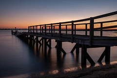 Pier Sunset (daveknight1946) Tags: essex southend pier sunset river riverthames longexposure fujixt3 daveknight