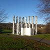 The Heritage sculpture, Riverside Park, Glenrothes