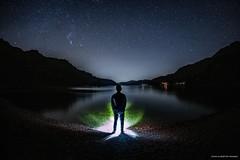 'Stargazing At Loch Lomond' (john&mairi) Tags: scotland rubhaban milkyway newmoon glasgow lightpollution silhouette constellations taurus orion sky starry stars stargazing lomond loch