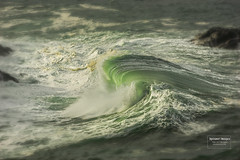 Wave Slide 120319 (bposner images) Tags: landscape ocean oregon oregoncoast slide splash beach crash foam motion nature sea seascape seashore spray storm surf swell travel water wave wet wind