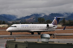 N980SW CRJ-200 United Express (eigjb) Tags: santa rosa airport ksts sts california usa transport aircraft aviation plane spotting n980sw crj200 united express canadair crj2 regional jet airliner skywest airlines sonona county