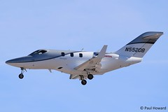 2019-10-24 LAS N552DB (Paul-H100) Tags: 20191024 las n552db honda jet ha420