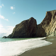 2019-11 H C R04 002 (kccornell) Tags: point reyes marin california beach coast pacific ocean hasselblad 500c 120 6x6 medium format film kodak portra 400 color