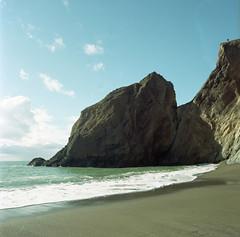 2019-11 H C R04 001 (kccornell) Tags: point reyes marin california beach coast pacific ocean hasselblad 500c 120 6x6 medium format film kodak portra 400 color