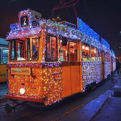 Christmas Time (szilvia16) Tags: christmas decor lights traffic train budapest