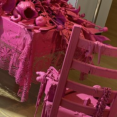 Think Pink! (ktmqi) Tags: sculpture contemporaryart americanart mixedmedia florida orlando